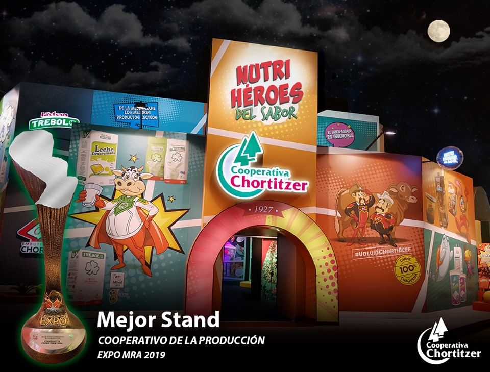 """Chortitzer wins """"Mejor Stand Cooperativo de la Producción"""""""